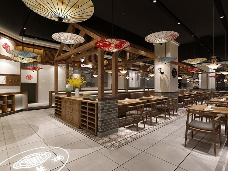 武汉名小吃餐厅设计之德华楼